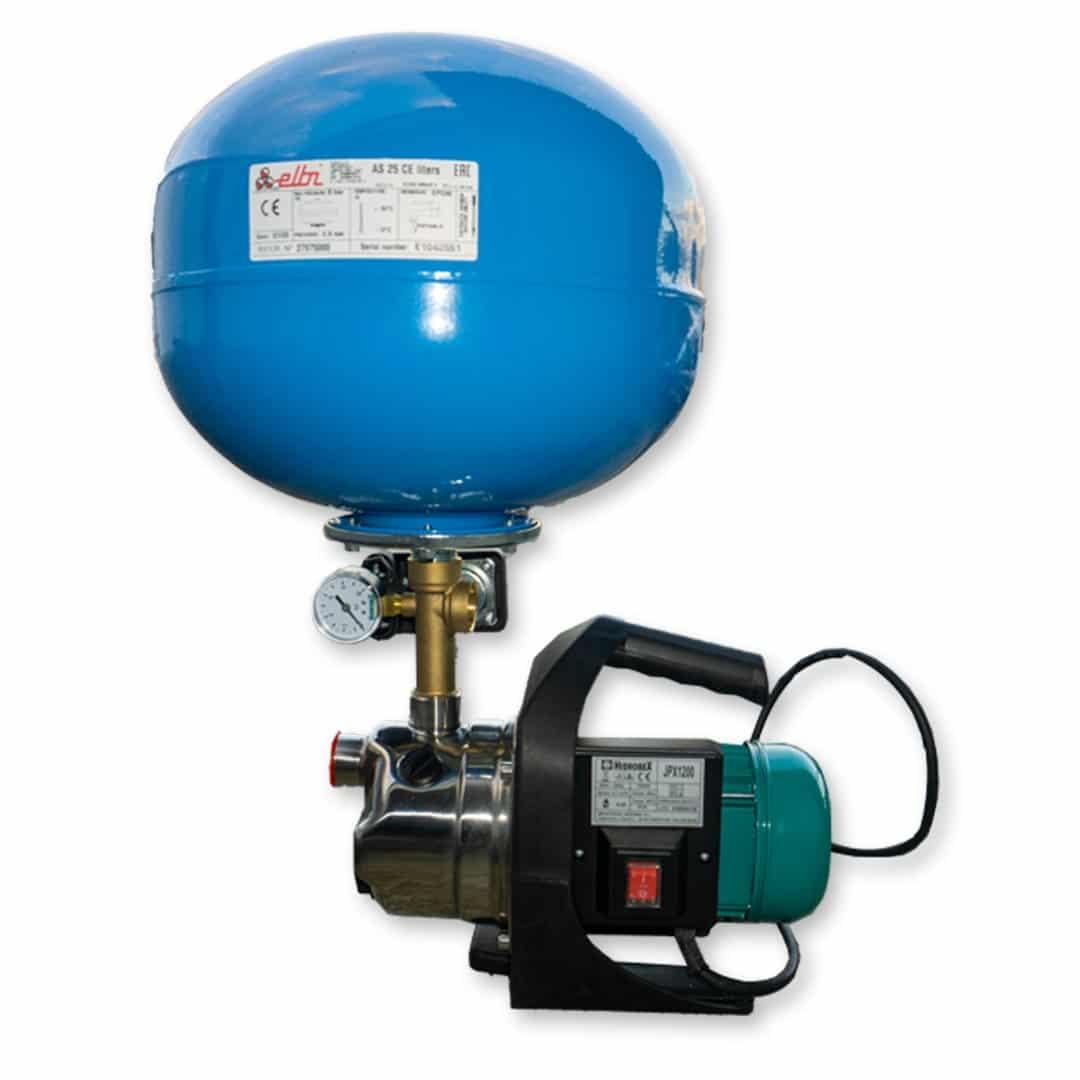 Conjunto pressão JET inox 1.6HP JPX-1200 25lt