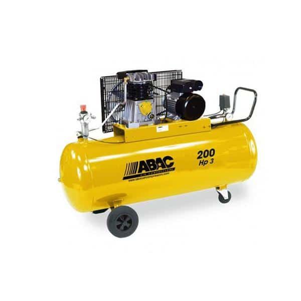 Compressor ABAC B26B/200 Litros -  3Hp Com Correia