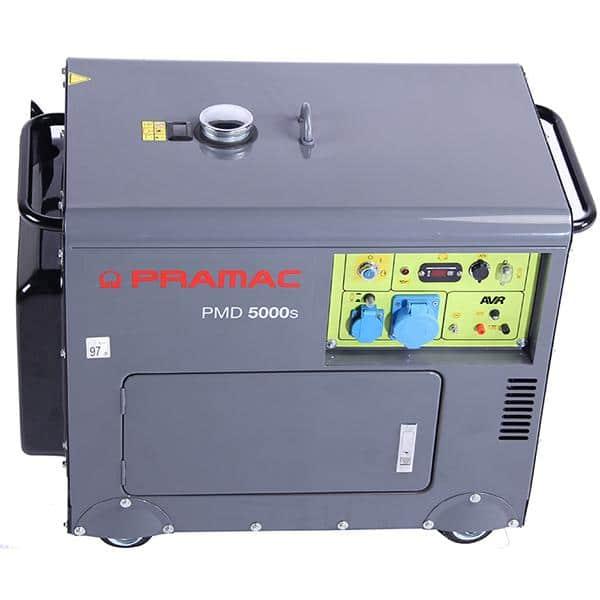 Gerador a Diesel Pramac PMD 5000s - 5Kw