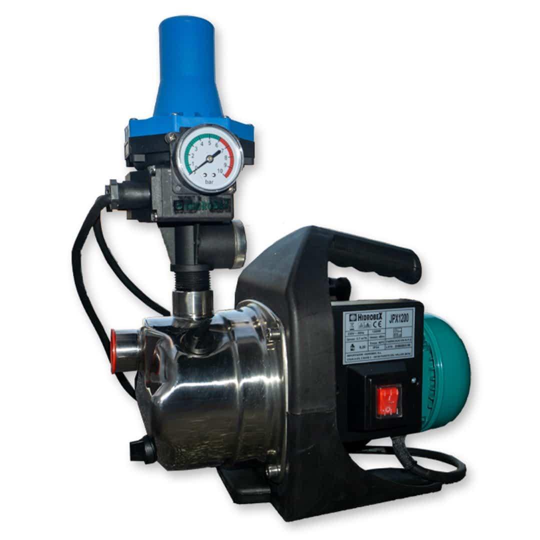 Conjunto pressão JET inox 1.6HP JPX-1200 c/ Controlador Imatic