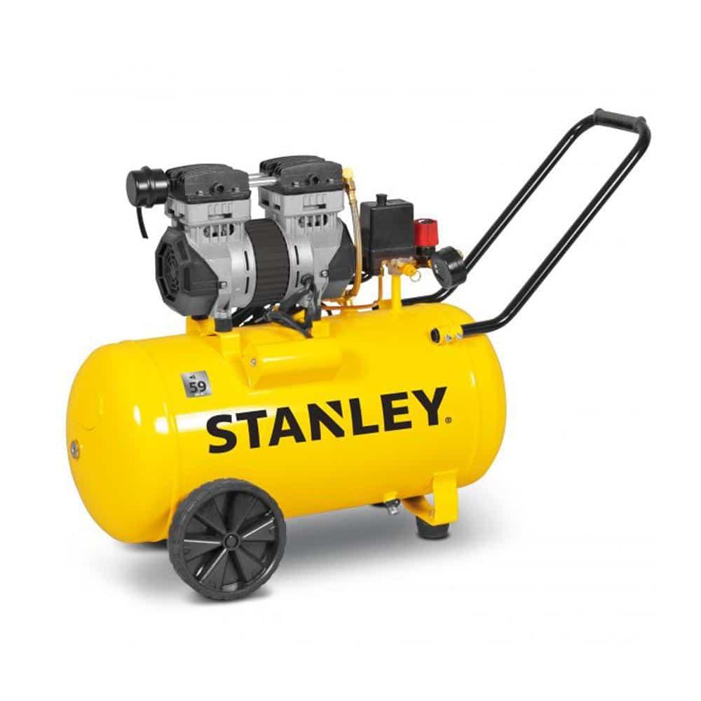 Compressor STANLEY 1.3HP 50L Silencioso