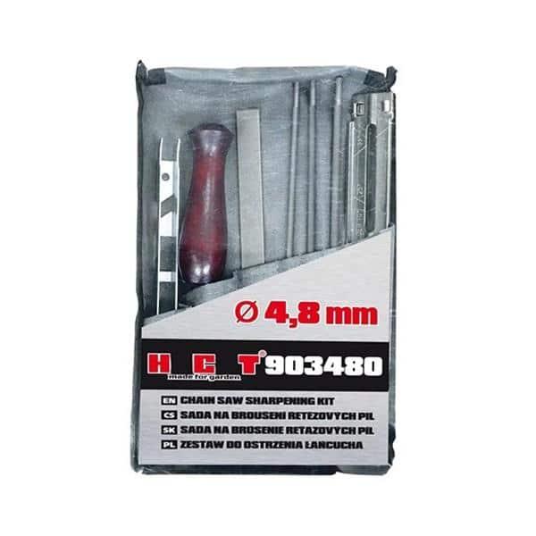 Kit de limas e réguas para afiar correntes de motosserra