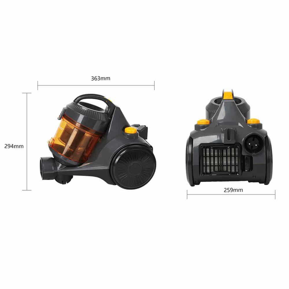 Aspirador Vacuum sem saco SICLÓNICO - TANK