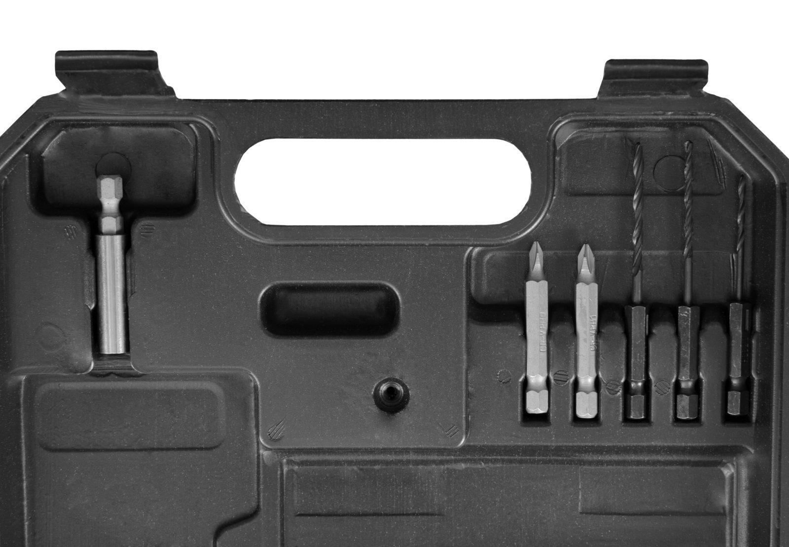 Aparafusadora 3.6volts 27pcs  HCT SD1152B