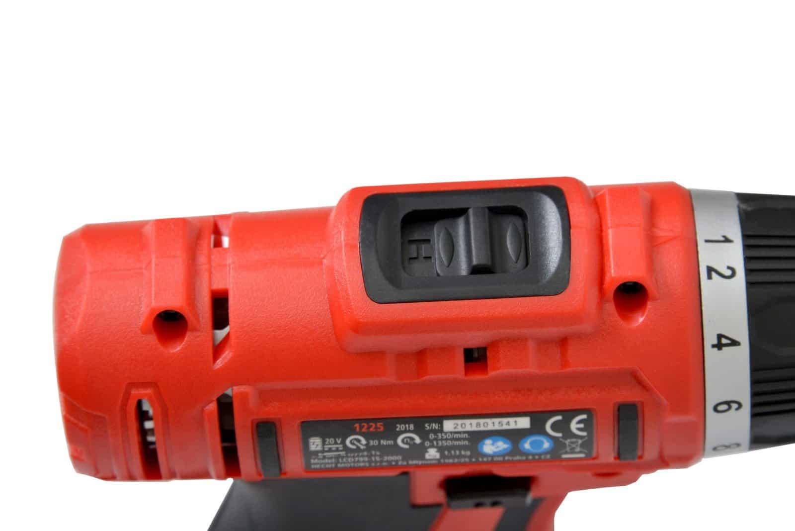 Aparafusadora a bateria HCT SD1225B - 20V