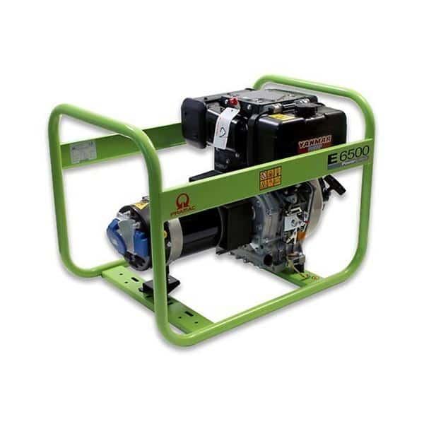 Gerador Diesel PRAMAC E6500 - 5.9 kVA