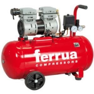 Compressor 50lt Silencioso Ferrua