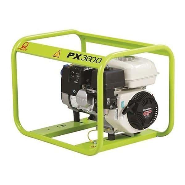 Gerador a Gasolina PRAMAC PX3600 - 3.3 Kva