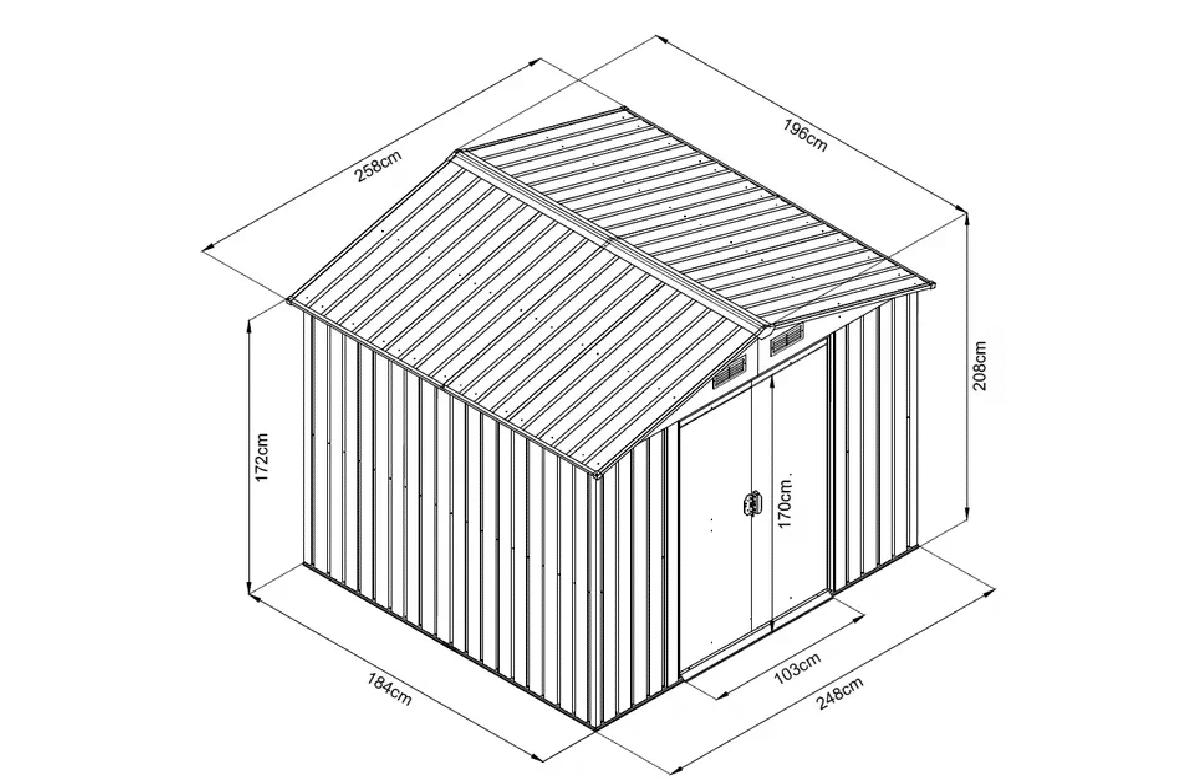 Casa Jardim HCT 6X8 RESISTPlus+