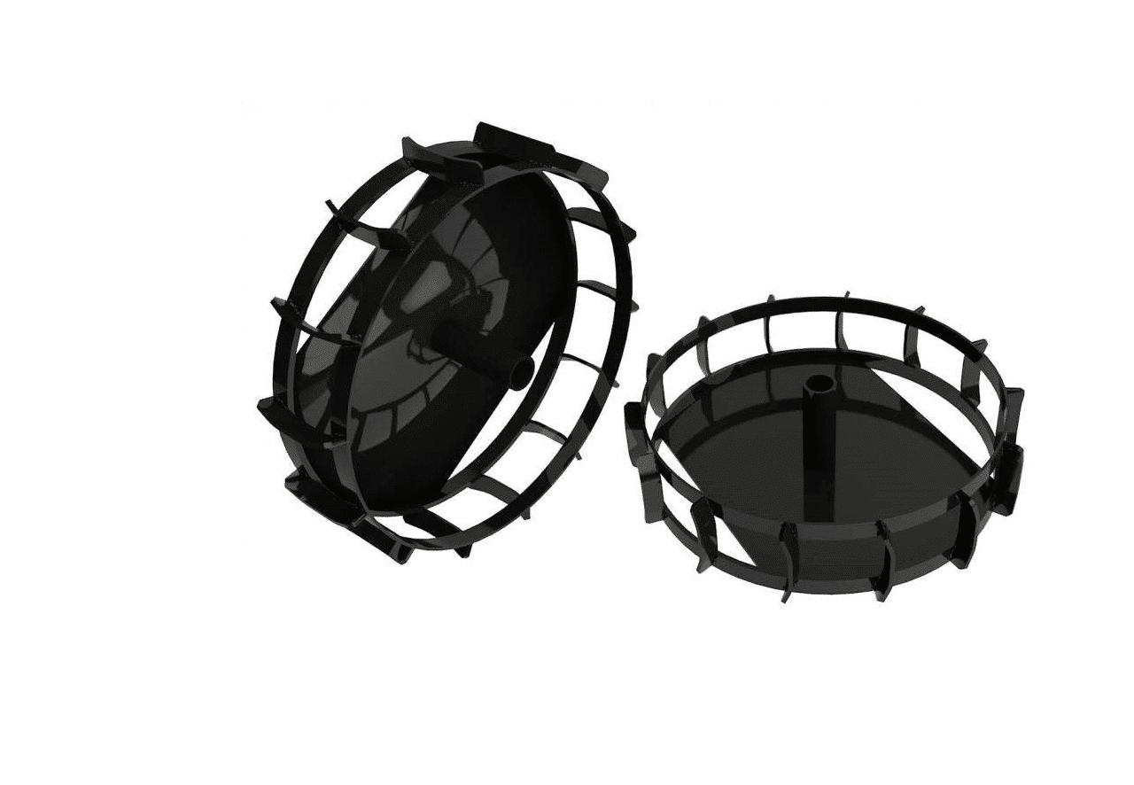 Rodas de Aço HCT 8001004 - Para modelos HCT 785,790 e 795
