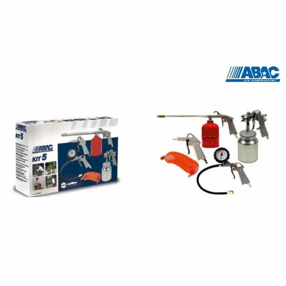 Conjunto para Compressor - ABAC 5 Peças