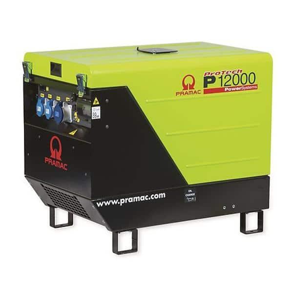 Gerador Gasolina PRAMAC P12000 - 11.9 kVA