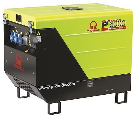 Gerador Diesel PRAMAC P6000 - 5.9 kVA