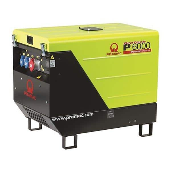 Gerador Diesel Trifásico PRAMAC P6000 - 5.9 kVA