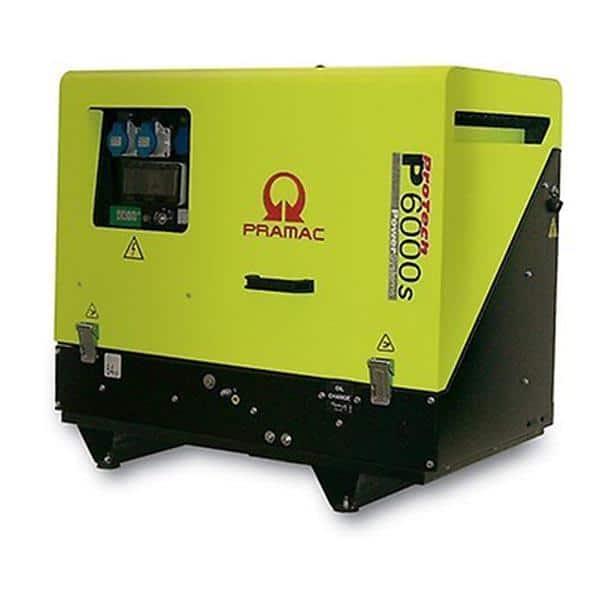 Gerador Diesel PRAMAC P6000s - 5.9 kVA
