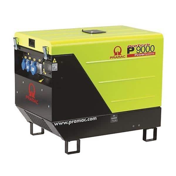 Gerador Diesel PRAMAC P9000 - 8.8 kVA