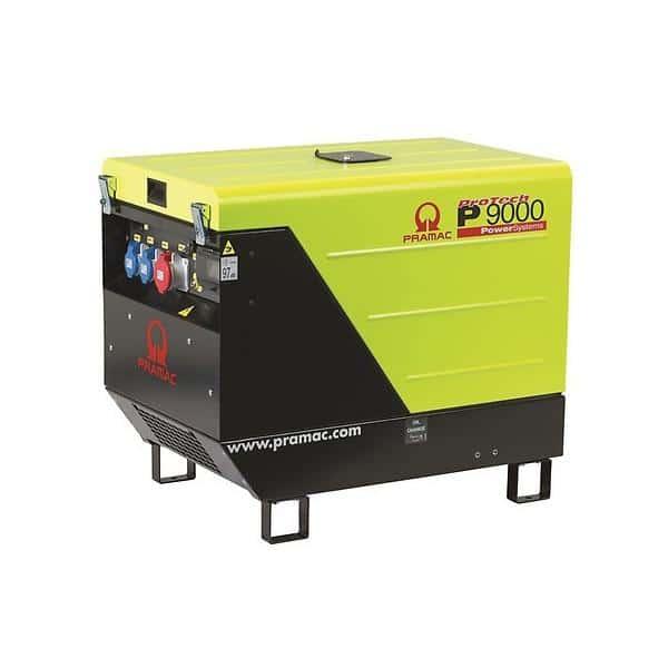 Gerador Diesel Trifásico PRAMAC P9000 - 10.6 kVA