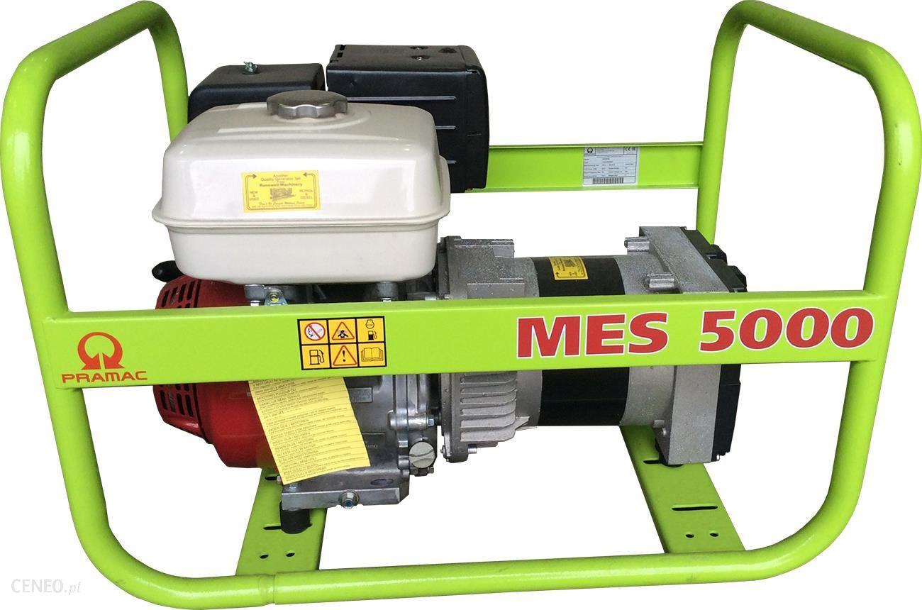 Gerador a Gasolina PRAMAC MES5000 - 5.1 Kva