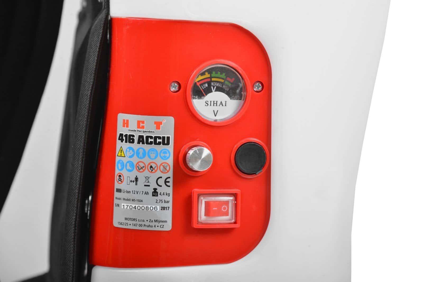 Pulverizador a Bateria HCT416 ACCU