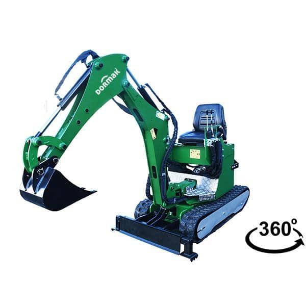Mini Escavadora DORMAK DK-82 1500P+