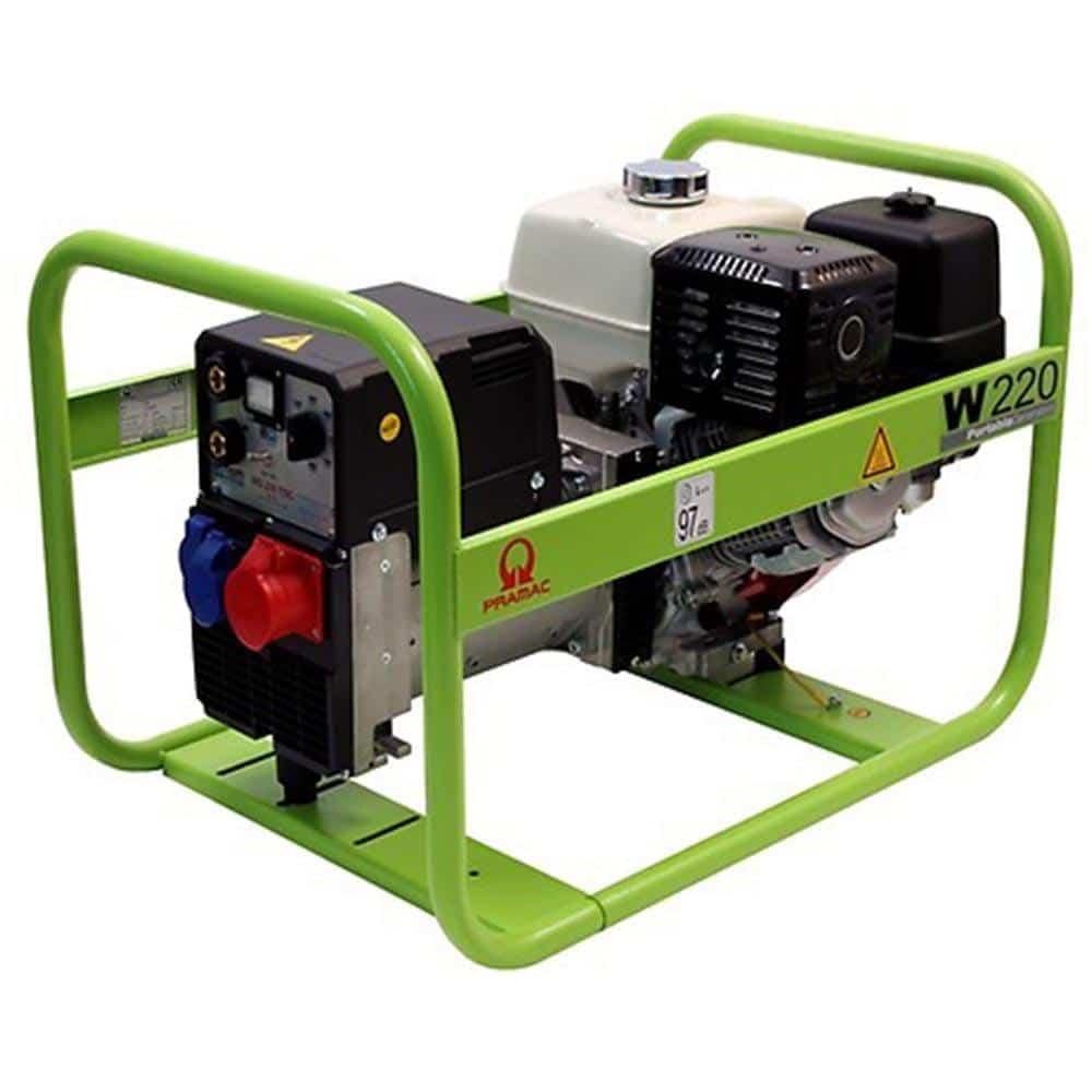 Máquina de Soldar a Motor PRAMAC W220 - 40/220A