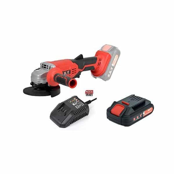 Conjunto Rebarbadora + Bateria HCT AG1320B - 20V