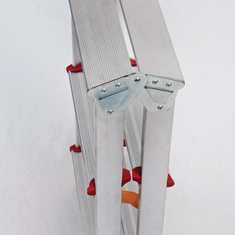 Escadote Duplo em Alumínio - FERRAL