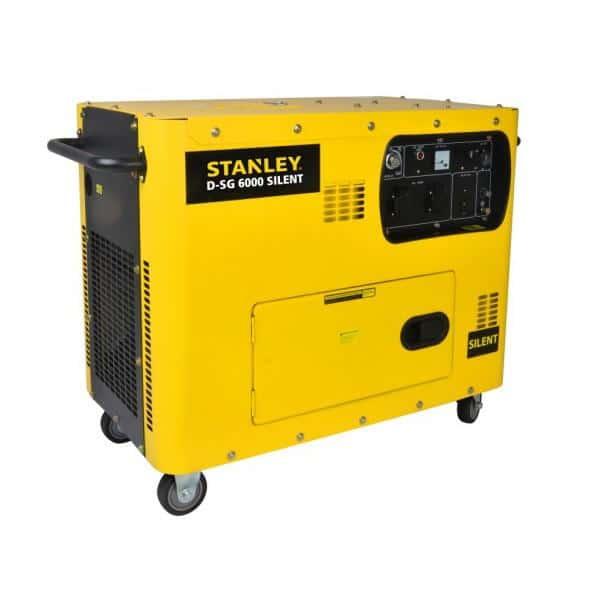 Gerador gasoleo STANLEY 5000W  diesel