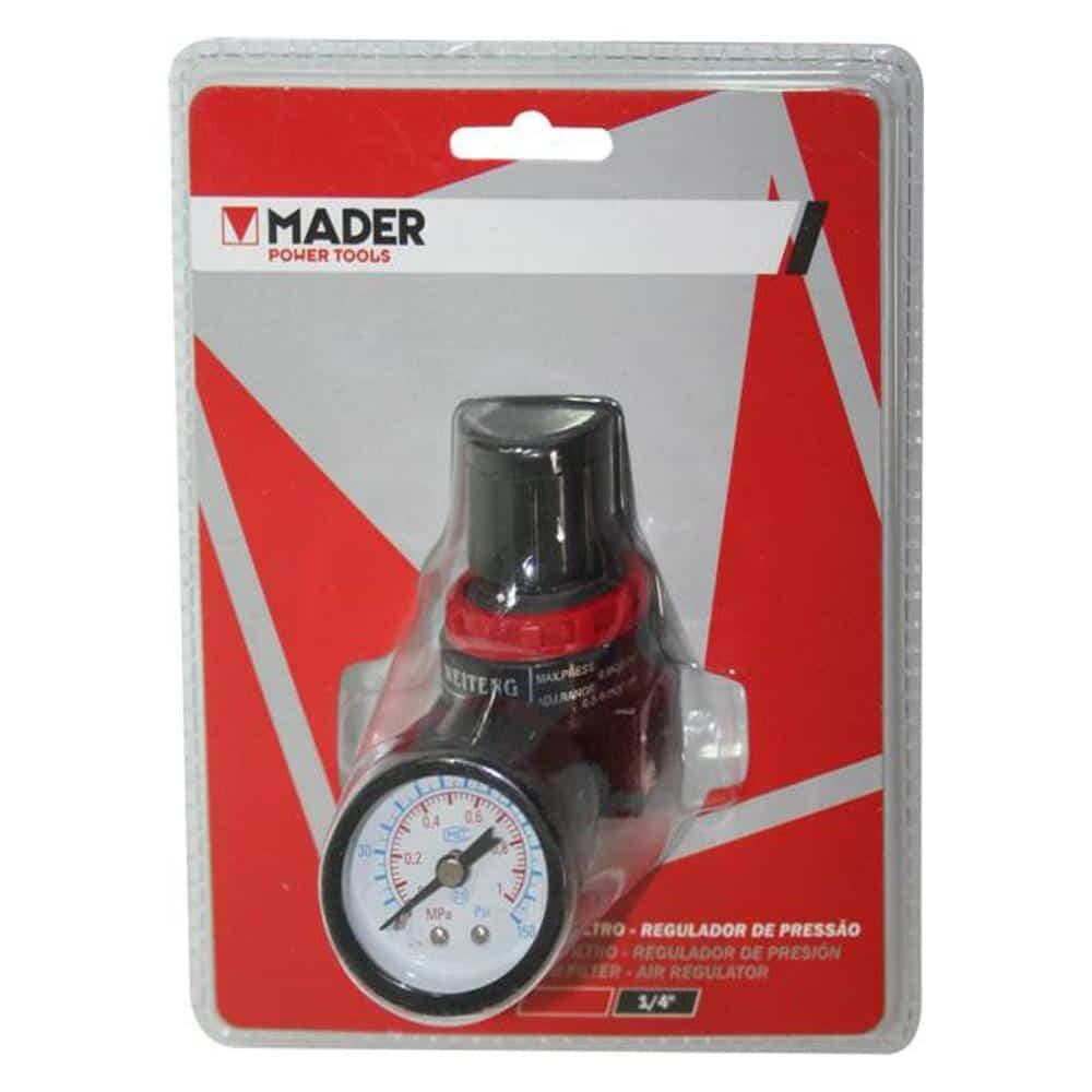 Filtro regulador de pressão MADER