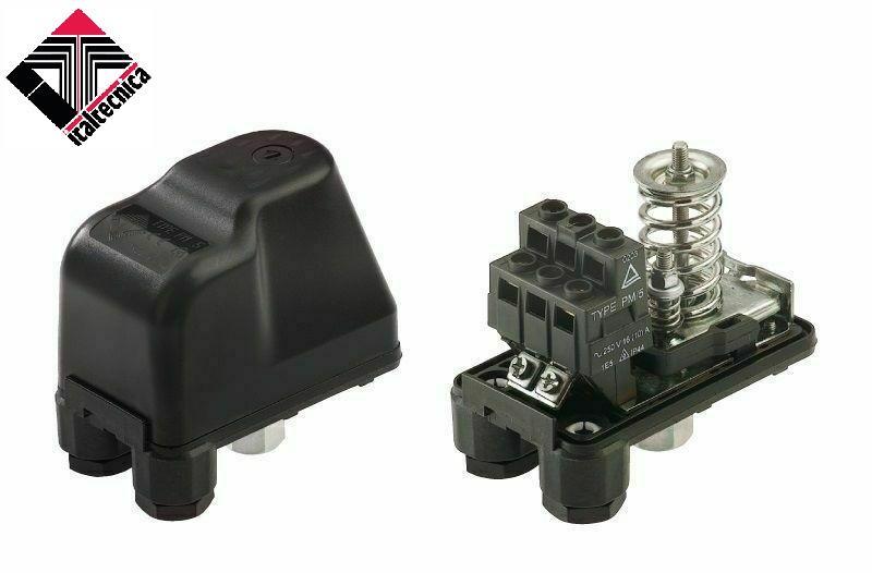 Pressostato Italtécnica PM5/G porca móvel
