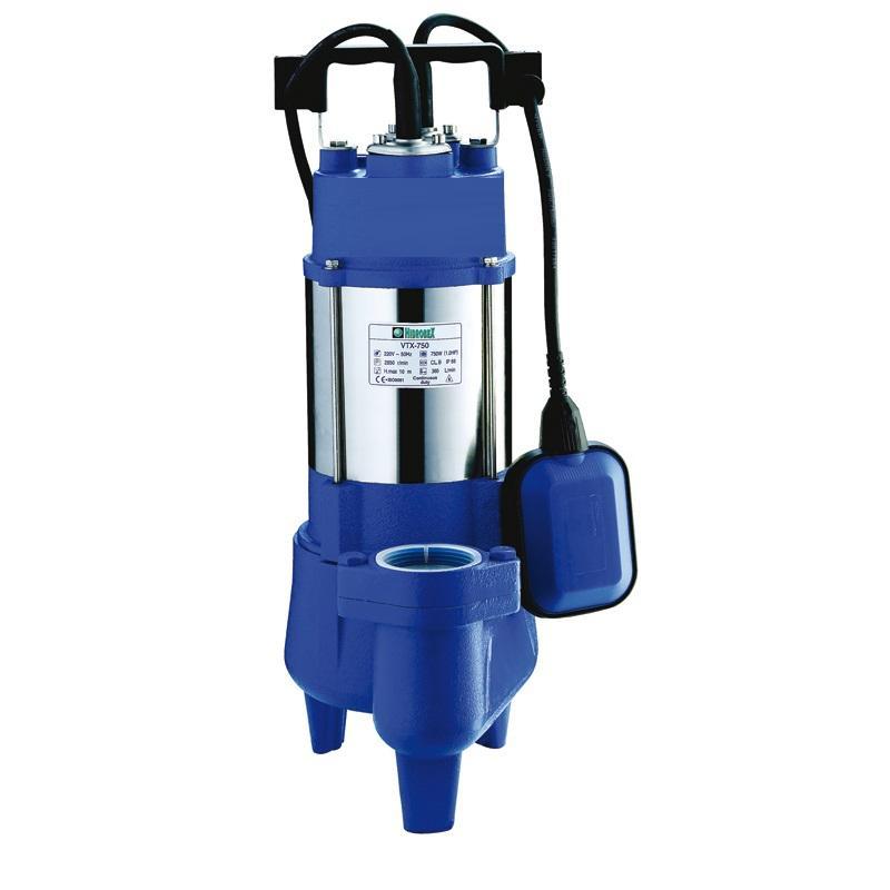 Eletrobomba águas residuais Hidrobex VTX-1500F 230V