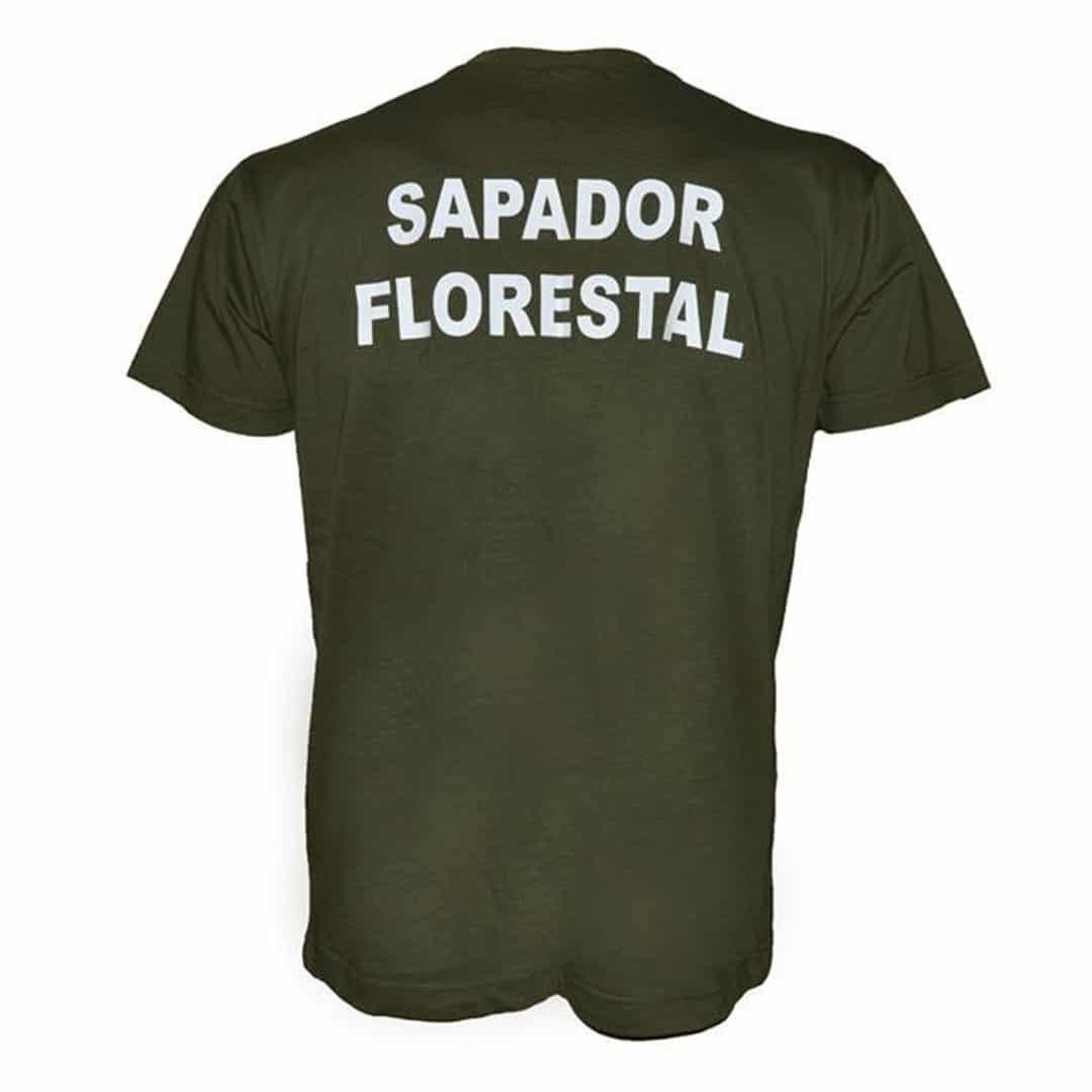 T-shirt Sapador Florestal Customizável