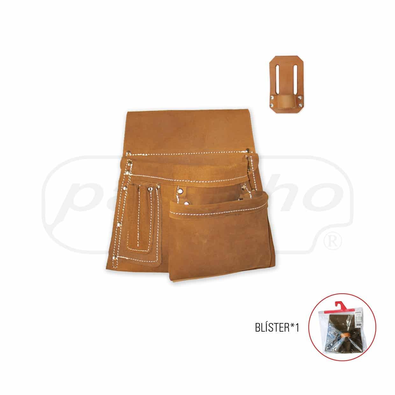 Bolsa de Trabalho Profissional de 4Bolsos + Porta Martelo