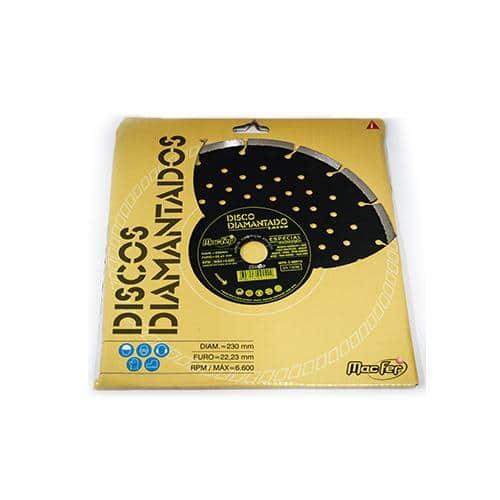 Disco Diamantado Especial Construção - MacFer