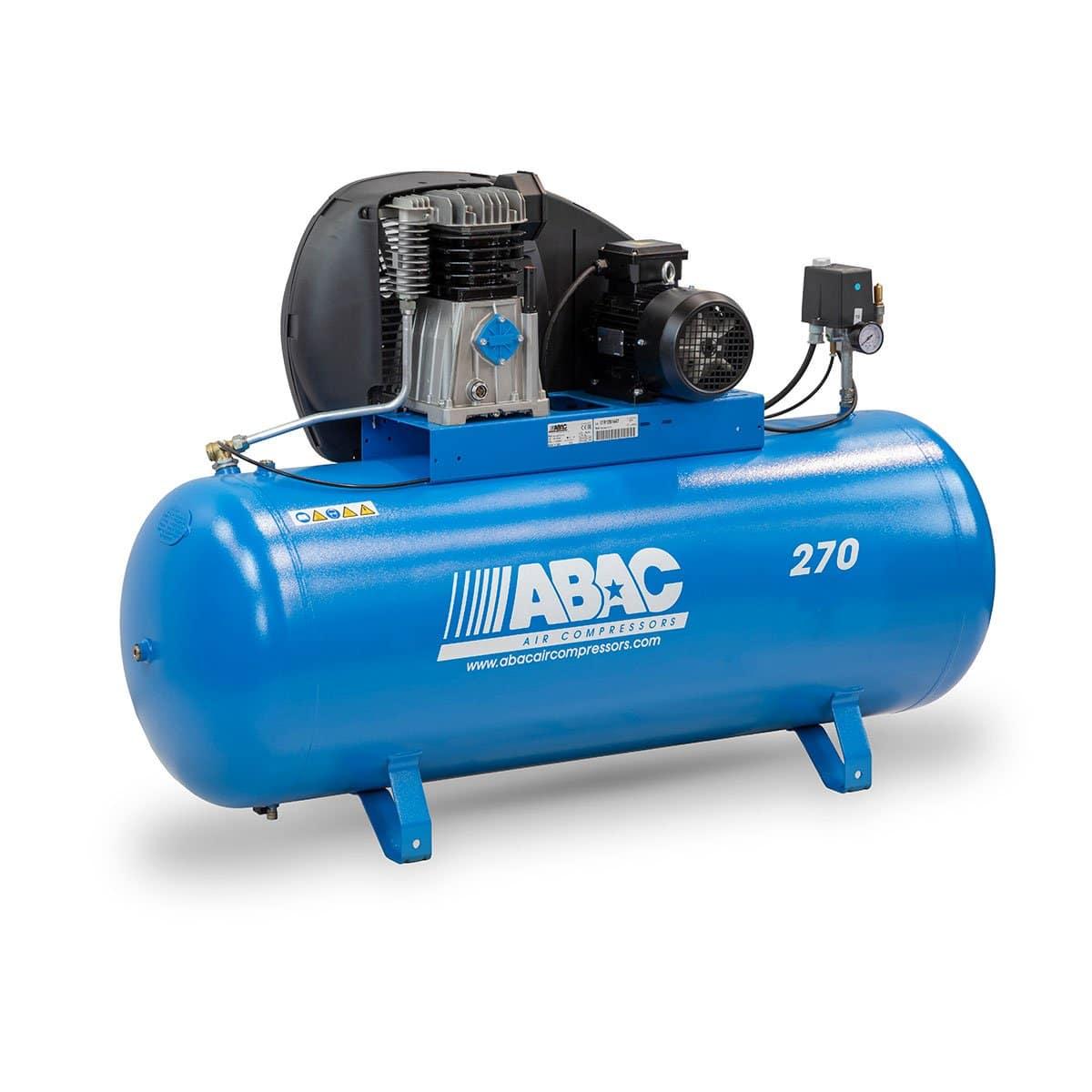 Compressor Trifásico ABAC A49B PRO - 270L 5.5Hp