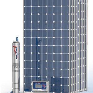 Kit Pedrollo Fluid Solar 2/14 - 140mts - 4500 l/h