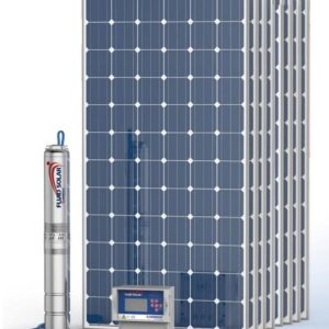 Kit Pedrollo Fluid Solar 6/6 - 65mts - 10800 l/h