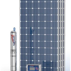 Kit Pedrollo Fluid Solar 4/4 - 39mts - 6100 l/h